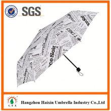 OEM/ODM Fabrik liefern Custom drucken Werbung Werbeartikel Regenschirm mit logo