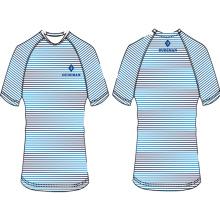 Sublimation de t-shirt des hommes 2017 de conception chaude imprimée avec le logo
