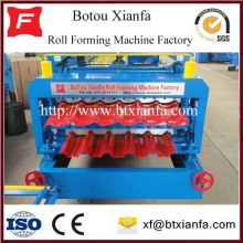 Customized for Roof Roll Forming Machine Corrugated Cold Rolled Steel Tile Roll Forming Machine export to East Timor Manufacturers