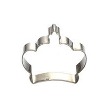 crown shaped stainless steel cookie cutter