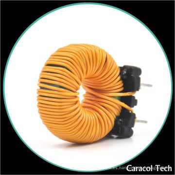 Inductor toroidal de la bobina de obstrucción del imán de la ferrita del filtro de la línea de la onda del seno