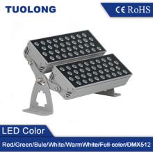 Luz de inundación LED industrial 72W con doble cabeza LED Luz de inundación al aire libre
