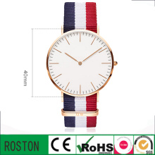 Moda Miyota Movimento Personalizado Men Watch Watch