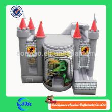 Крокодил замок надувной упругий замок надувной комбинированный вышибала