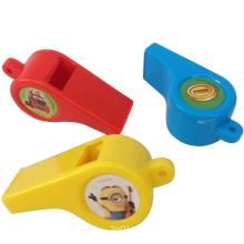 Дешевые игрушки детей Красочный пластиковый свисток (H8027046)