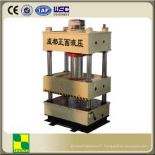Presse à chaud hydraulique à quatre colonnes