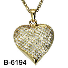 New Design Fashion Jewelry 925 Sterling Silver Necklace Pendant