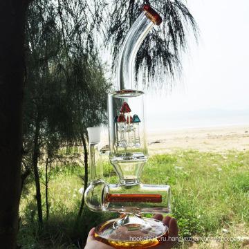 Зимний новейший дизайн оранжевого стекла курения водопровод (ES-GB-296)