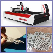 Máquina de corte del laser del metal de la fibra del CNC para Ss, Ms Materiales