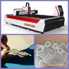 Máquina de corte do laser do metal da fibra do CNC para Ss, materiais da ms