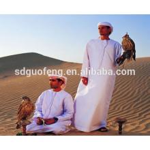 65/35 45x45 133x72 Tela blanca y teñida para prendas de vestir y camisas Tela T / C para túnica árabe