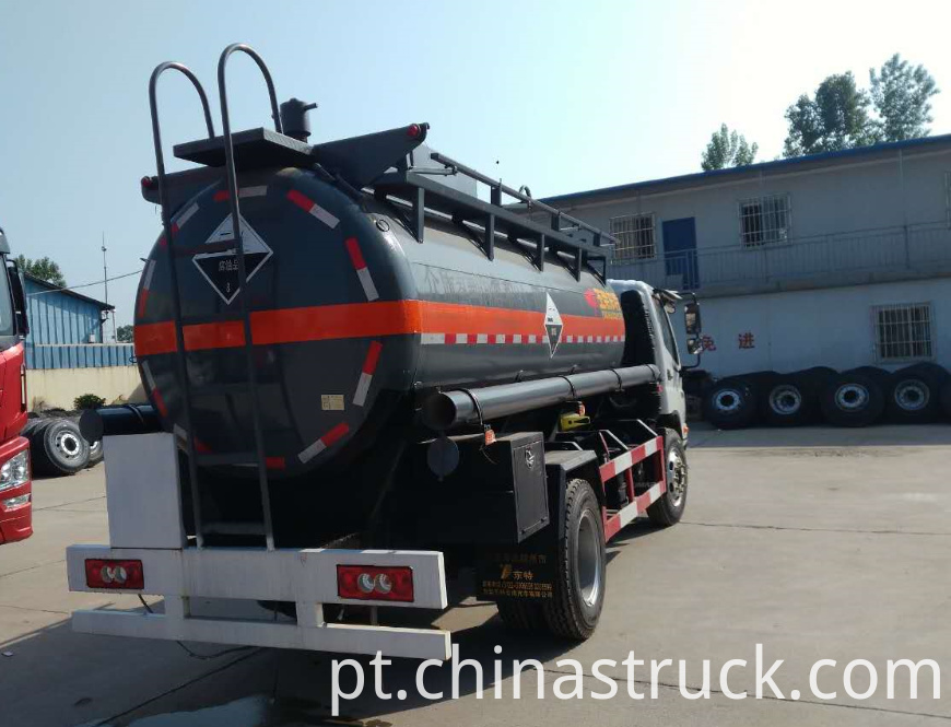 15Ton chemical tank truck