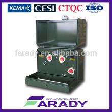 Однофазная накладка, смонтированная на распределительных трансформаторах 15кВ 1000кВА
