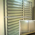 2018 hot selling horizontal aluminum window rolling shutters