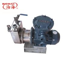 Pompe centrifuge à pompe à amorçage automatique en acier inoxydable pour eau et boissons