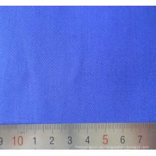 Ropa de trabajo de la tela cruzada azul algodón poliéster T/C