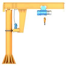 1ton Workshop Electric Stationary Jib Crane With Hoist