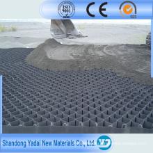 Высокое качество CE сертифицированный HDPE георешетка для дорожного полотна, уклон
