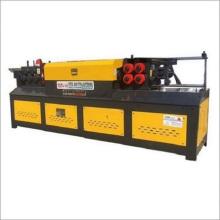Machine de redressage et de découpe de fils d'acier cnc
