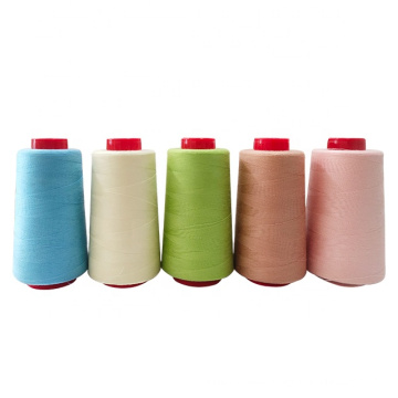Poly / Poly core spun sewing threads