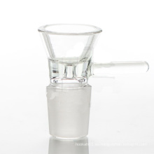 Accesorios de cristal para el humo con el tazón de fuente del reemplazo del estilo del embudo (ES-AC-017)