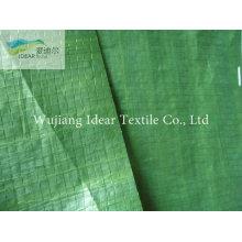 Carro verde coberto de tecido Industrial de tecido/dossel