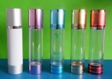 वायुहीन बोतल कॉस्मेटिक बोतल 100 मिलीलीटर निर्वात बोतल