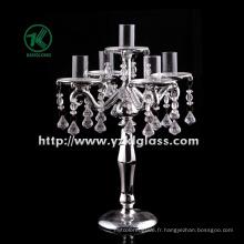 Bougeoir en verre pour décoration intérieure par SGS ...