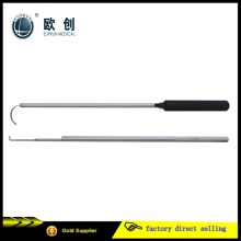 Reusable Medical Hospital 10mm Hook Arterial Renal Retractor de Hígado de Riñón