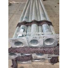 Steel material ASTM123 ,Galvanized EN1461 street lamp pole