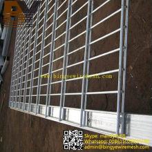 Valla de malla de alambre soldada doble valla gemela de alambre