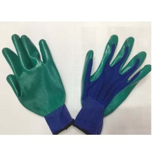 Polyester Latex Coated Working Working Protection Gants Professionnels