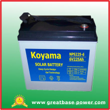 Solar System Wind Energy System Power Battery 225ah 12V