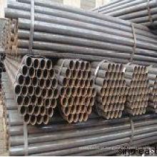 Tubo de ferro preto