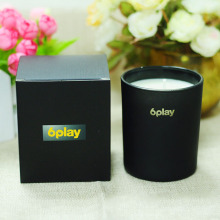 Wholesale Custom black Pape Candle Gift Box