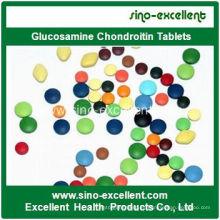 Mejora de la densidad ósea Glucosamina Chondroitin Tablet