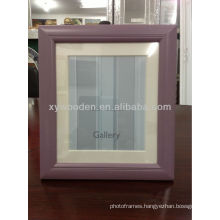 Colourful handcraft wood picture frame drawing picture frame