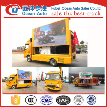 SINOTRUK HOWO Out-door mobile LED advertising truck