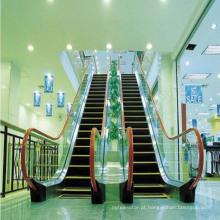 Escada rolante de corrimão para transporte público