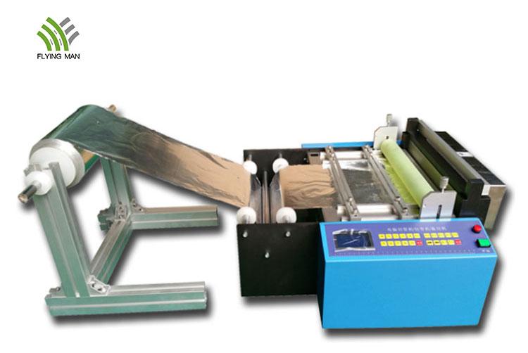 Aluminum foil cutting machine