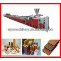 wood plastic extruder wood plastic profile extruder