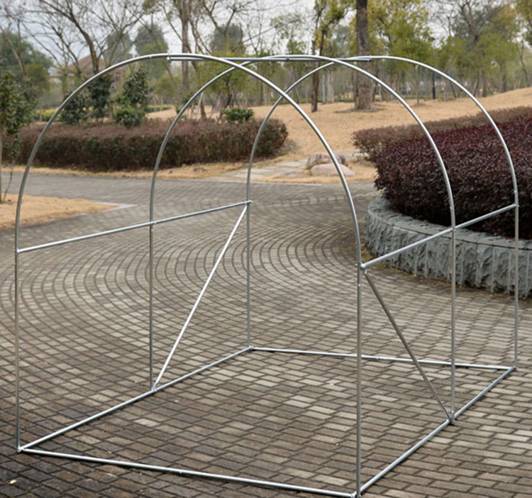 Polytunnel Greenhouse Galvanized Steel Frame