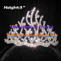 3inch Wholesale Crystal Crowns And Tiaras