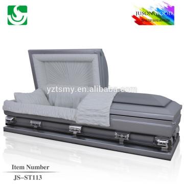 stainless steel casket