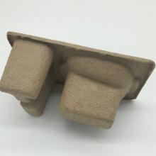 boîte de plateau d'emballage de pâte moulée personnalisée en gros