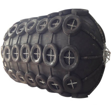 Anti-abrasion pneumatic rubber boat fender self floating for ship and dock