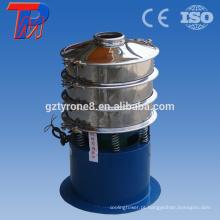 Use uma máquina de tela de vibração de aço inoxidável 304 para tela de agitação de cascalho