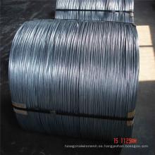 Alambre galvanizado sumergido caliente del hierro de la bobina