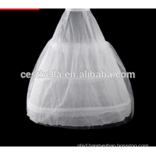 Simple White Tulle Petticoat Ball Gown Dress Bridal Petticoats Long
