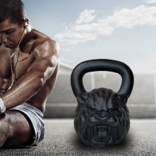 Cast Iron Kettlebell a forma di animale